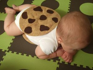 Chocolate Chip cookie costume - so yummily cute!!